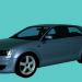 3d model AUDI_A3_Max2009 - preview