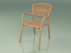 Chair 161 (Teak, Belt Tobacco)