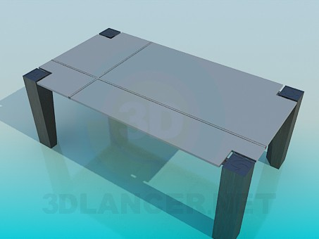 3d modeling Table in high-tech style model free download