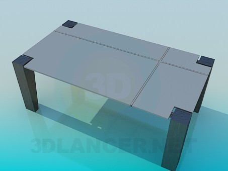 3d model Table in high-tech style - preview