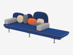 सोफा, चार-सीटर