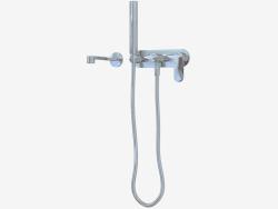 Скрытый смеситель с носиком, миксером и ручным душем One (112570)