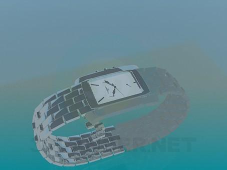 modelo 3D Reloj - escuchar