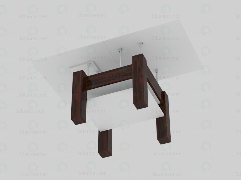 Alice, coffee table-transformer B1 paid 3d model by BurnOll preview