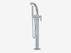 Отдельно стоящий смеситель для ванной с носиком и ручным душем One (112580)