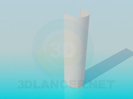 3d modeling Foot wash-basin model free download