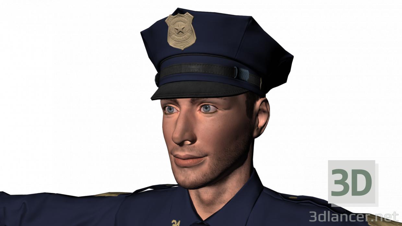 3d Oliver police model buy - render
