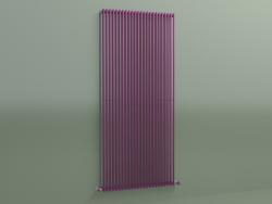 Radiatore verticale ARPA 1 (1820 24EL, viola trasporto RAL 4006)