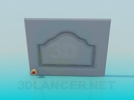 3d модель Дверцята з ручкою – превью