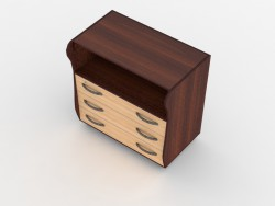 341893 type 4, dresser with changing table