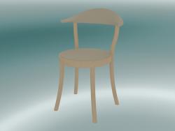 Sedia MONZA sedia da bistrot (1212-20, faggio naturale, caffè latte)