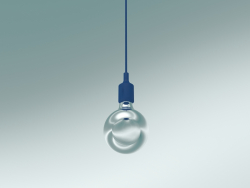 Pendant lamp E27 (Blue)