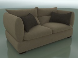 Sofa two-seater Parma (1950 x 1100 x 830, 195PA-110)