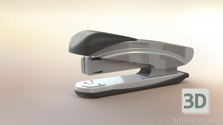 3d model paper stapler - preview