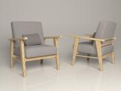 बंहदार कुरसी