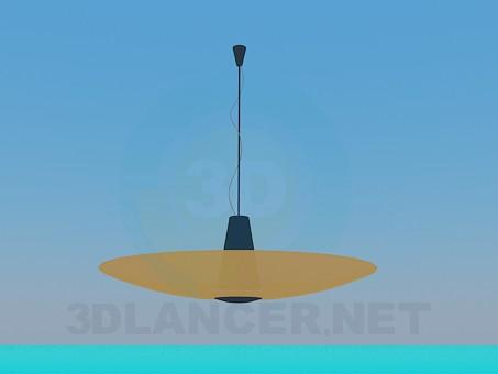 modelo 3D Placa de la lámpara - escuchar