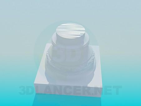 modelo 3D Pedestal - escuchar
