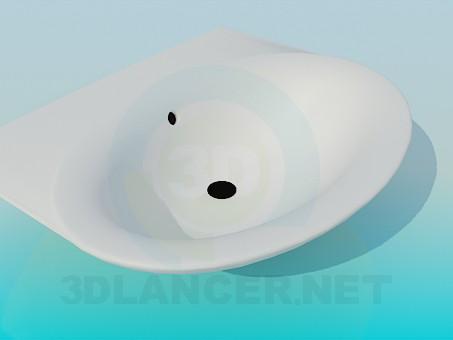 modelo 3D Fregadero - escuchar