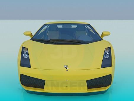 3d модель Lamborghini-gallardo – превью