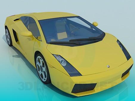 3d model Lamborghini-gallardo - preview
