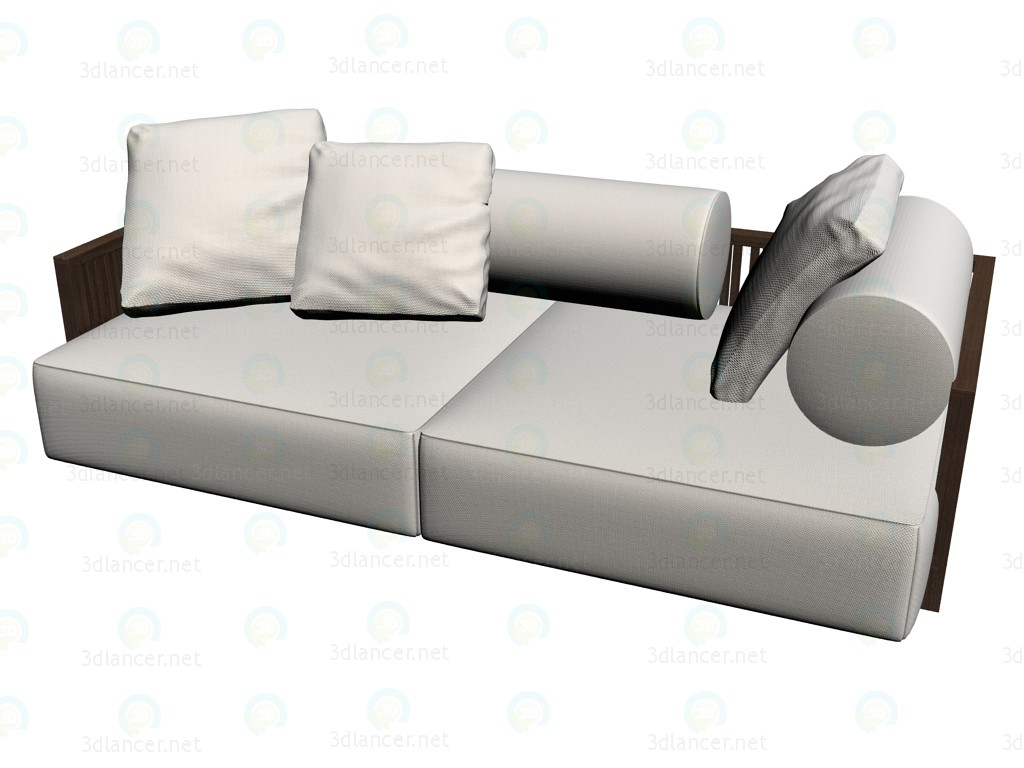 3d modeling Sofa 2860 model free download