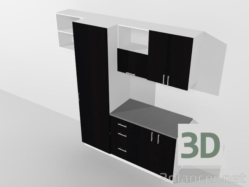 Modelo 3d Ambiente de cocina - conjunto del fabricante MANUFACTURER ...