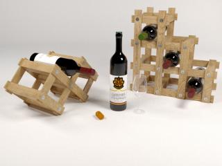 Şarap tutucu