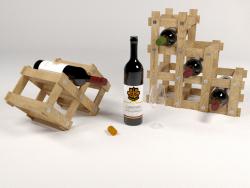Sostenedor del vino