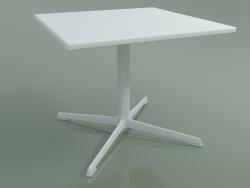 Tavolo quadrato 0972 (H 50 - 60x60 cm, M02, V12)