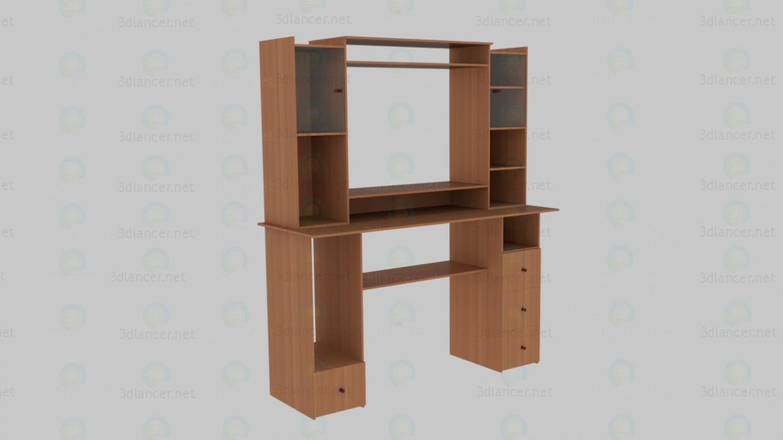 3d модель Комп'ютерний стіл – превью