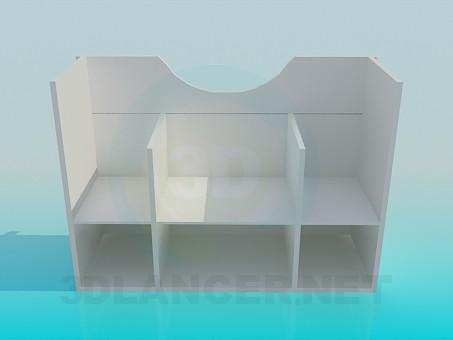 3d model Pedestal wash-basin - preview