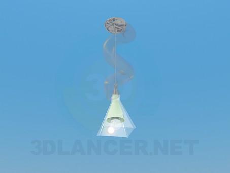 modelo 3D Lámpara colgante - escuchar