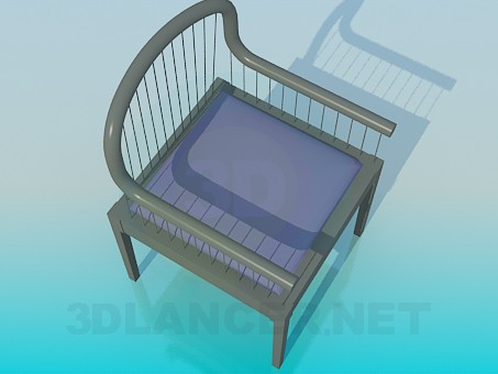 3d modeling Chair with strings model free download