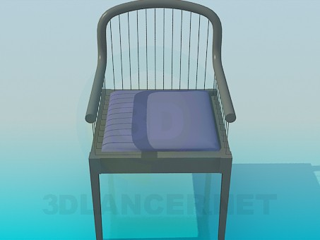 3d model Chair with strings - preview