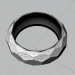 "3d model Ring ""Edge"" - preview"