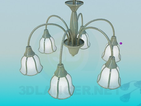 3d model Chandelier Bell - preview