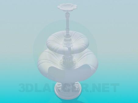 3d model Pedestal - preview
