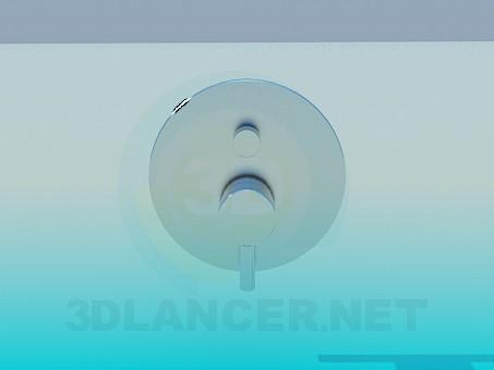 modelo 3D Grifo mezclador - escuchar
