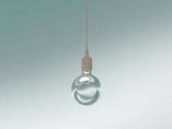 Lampada a sospensione E27 (Nuda)