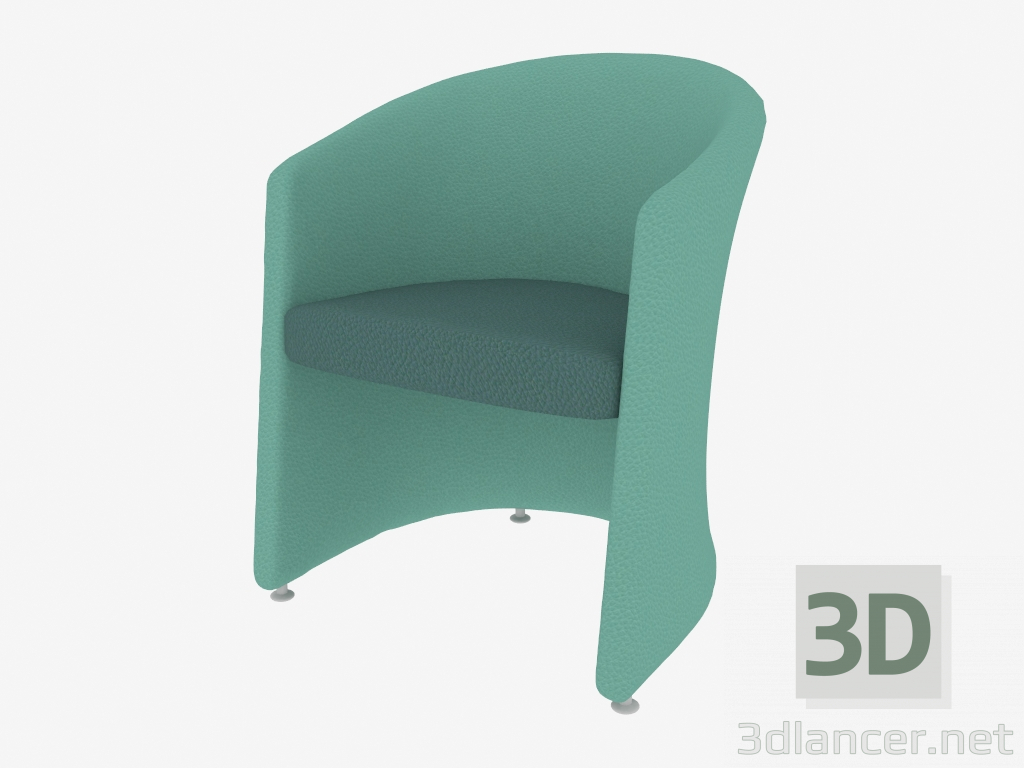 3 डी मॉडल एको आर्मचेयर (06) - पूर्वावलोकन