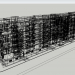 3 डी पांच मंजिला इमारत TKBU-1, चेल्याबिंस्क क्षेत्र मॉडल खरीद - रेंडर