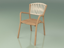 Chair 161 (Teak, Belt Sand)