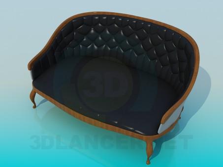 3d model Sofa antique - preview