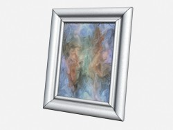 Big picture frame Art Deco Decor Big leather photo frame