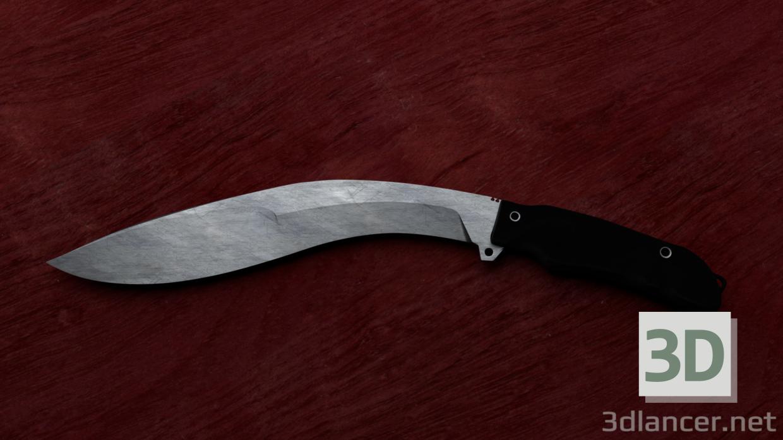 3D-Model knife