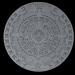 3d model aztec calendar - preview