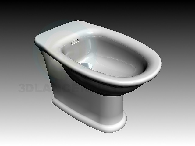 3d model Laufen Swing Bidet - preview