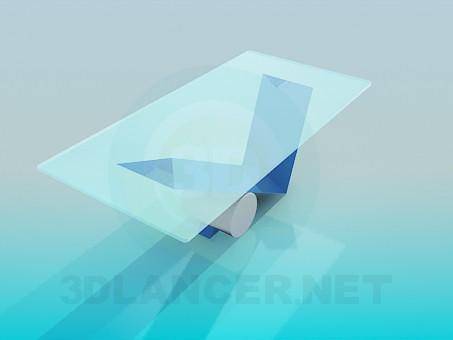 modelo 3D Mesa de centro en el vástago de la original - escuchar