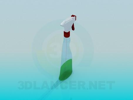 3d модель Миючий засіб з розпилювачем – превью