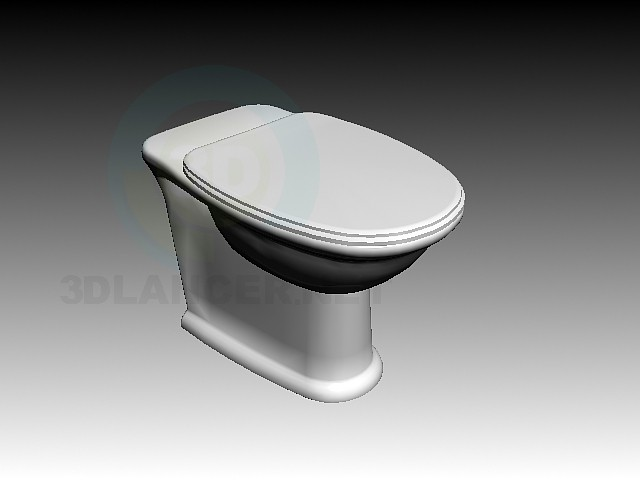 3d model Laufen Swing WC - preview